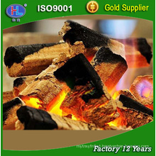 low ASH high calory Machine-Made Charcoal for BBQ barbecue