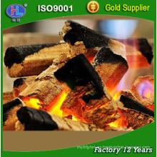 bajo ASH high calory Hecho a máquina de carbón para barbacoa de barbacoa