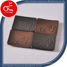 En gros de haute qualité en cuir Badge pour sac
