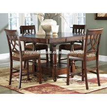 European style dining table and chair set XYN1514