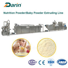 Linha expulsando do equipamento do pó da nutrição da grão