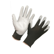 Nylon Polyester PU Coated Gloves with High Quality