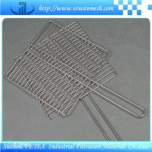Rejilla para barbacoa de acero inoxidable usada en la cantina