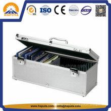 Крепко перевозящих алюминия CD / DVD хранения случае Ho-1007