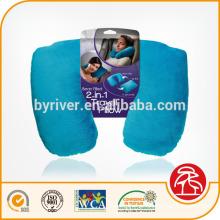 4-em-1 pescoço viagem travesseiro transformador viagens pescoço almofada conjunto