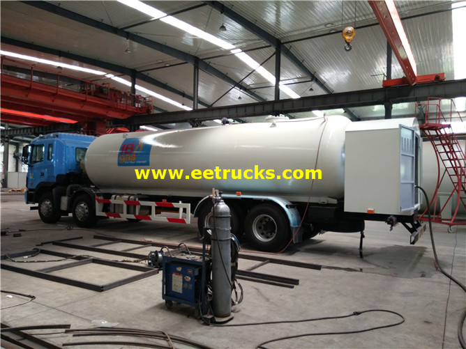 35 M3 LPG Delivery Tanker Vehicles