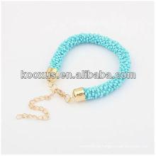2014 Bracelete novo do envoltório dos grânulos do bracelete da jóia do bracelete dos grânulos