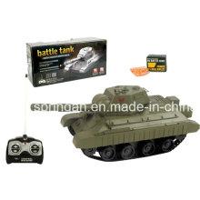 R / C Battle Tank Militar brinquedo de plástico