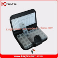 Any Color Plastic Pill Box with 56-Cases (KL-9025)