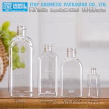 Serie TB DB 120ml y 240ml clásica y hermosa sola capa mejor calidad color inyección rectángulo champú del animal doméstico botella de 30ml