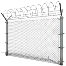 Factory Wholesale ISO & CE Hot Dipped Galvanized Chain Link Fence For Sale