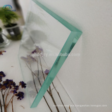 polished edge high quality greenhouse tempered glass panels for railing balcony window