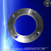 Изготовленной на заказ точности CNC подвергая механической обработке фланец прокладка