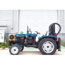 Equipamento de perfuração de irrigação agrícola montado em trator portátil de 200 m