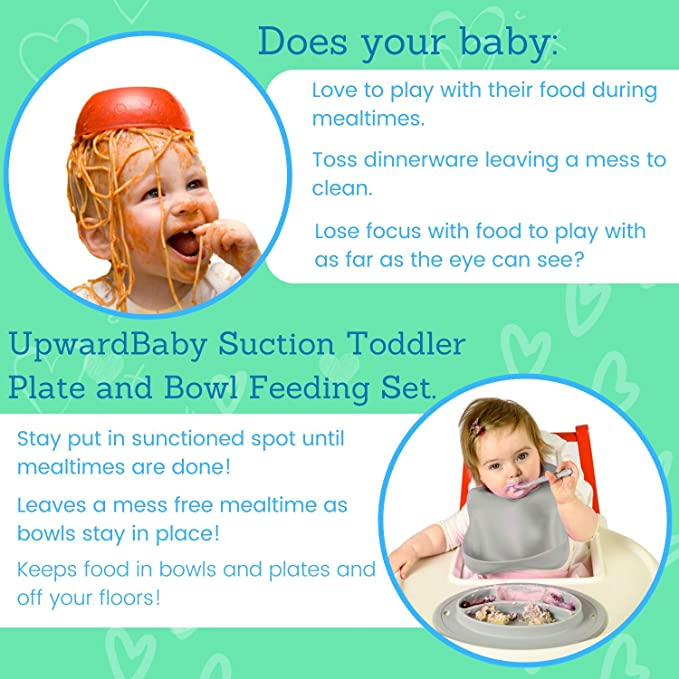 Suction Baby Plates