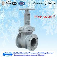 [PYL] China fabricação mais produto venda na Rússia fundição de aço haste válvula de porta pn16