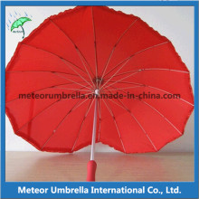 16ribs Special Heart Shape Umbrella for Lovers and Wedding