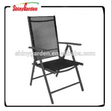 7 position extérieure jardin pas cher chaise pliante