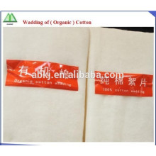 antibacterial metallic cotton fiber filling for bedding and clothing