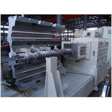 Conical Twin-Screw Extruder Spc PVC Flooring Extrusion Machine