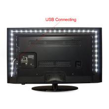 Aucun Imperméable à l'eau 5M 4M 3M 2M 1M Télécommandé Alimenté LED 3528 (2835) RVB USB TV Éclairage Ambiant