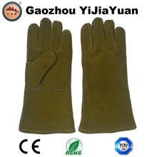 Ce En407 Heat Resisitant Leather Safety Protection Gants de soudure