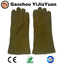 Ce En407 Heat Resisitant Leather Safety Protection Welding Gloves