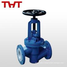carbon steel globe valve lining fluorine