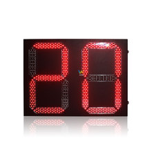 2 digits bi-color led countdown timer traffic light