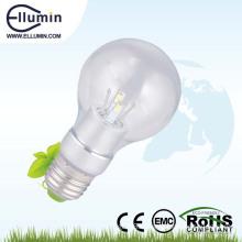 360 degree led bulb 5w clear glass bulb