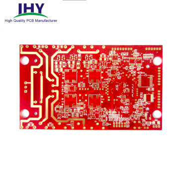 OEM High-Frequency PCB Fabrication with 50um Laser Vias PCB