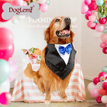 Gros personnalisé Extra Large Pet mode écharpe Party Dress Up Bandana chien