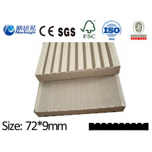 WPC Plank WPC Board with SGS CE Fsc ISO for Bench, Fence, Dustbin Plastic Wood Plank Board Lhma068
