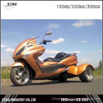 3 Wheeler ATV para adultos CEE Trike Venda quente no Japão 200cc / 300cc Trike