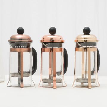 12oz French Press Kaffeemaschine aus Borosilikatglas
