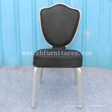 Rocking Hotel cadeira com tecido preto (YC-C68-01)