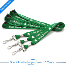 High Quality Screen Printing Lanyard with Lobster Clasp at Factory Price From China