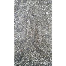 Full Sequins Taffeta Embroidery Fabric