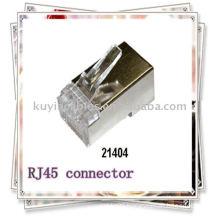 Premiun RJ45 connector Shielded Plug Cat5 8P8C Lan Connector Network