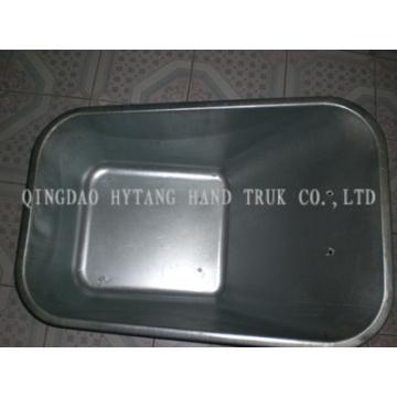 Bandeja Metal 80L pode ser zincada e pintada