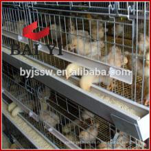 H type, 400 Oiseaux Capacité Poulet Eleveur Cage