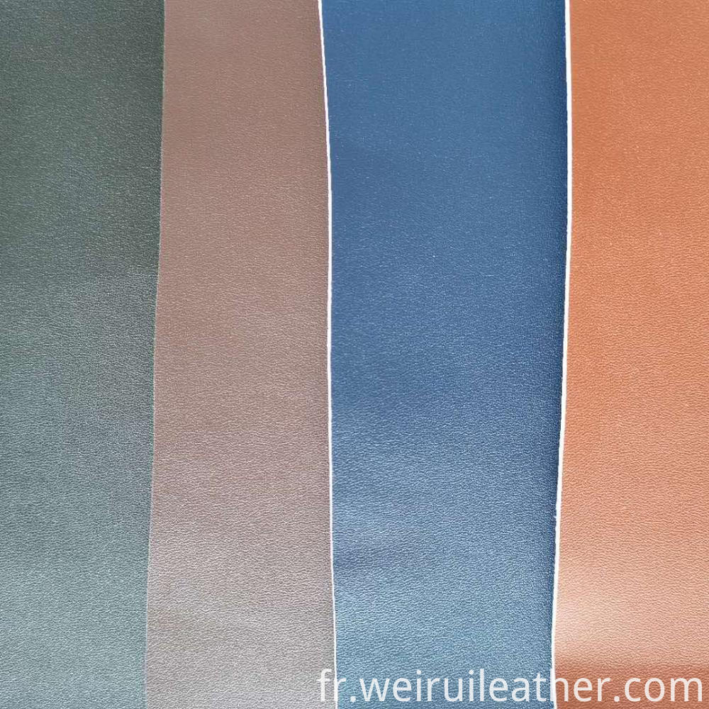 Super Thickened Fine Grained Pu Leather