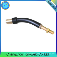 Peças de soldagem MB 23KD cisne pescoço MIG / MAG peças sobressalentes para soldagem de CO2