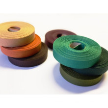 OEM cotton ribbon roll with different size for garment accessores