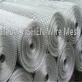 Standard size heavy wire guage galvanized welded wire mesh
