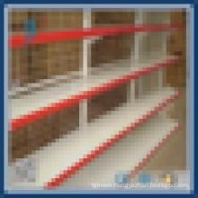 supermarket rack with back mesh
