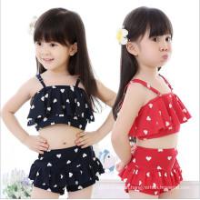 Leopard Style Little Girls Cute Swimwear
