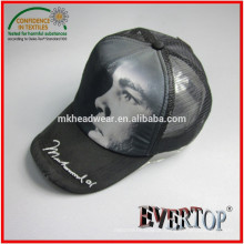 foam and mesh adult trucker cap with sublimation printing