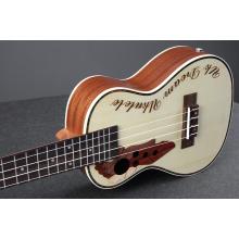23 inch green pearl trim ukulele