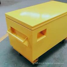 Caja de herramientas para camiones resistente al agua, de acero resistente y resistente al trabajo Caja de herramientas para camiones de acero resistente al agua, resistente y resistente al trabajo